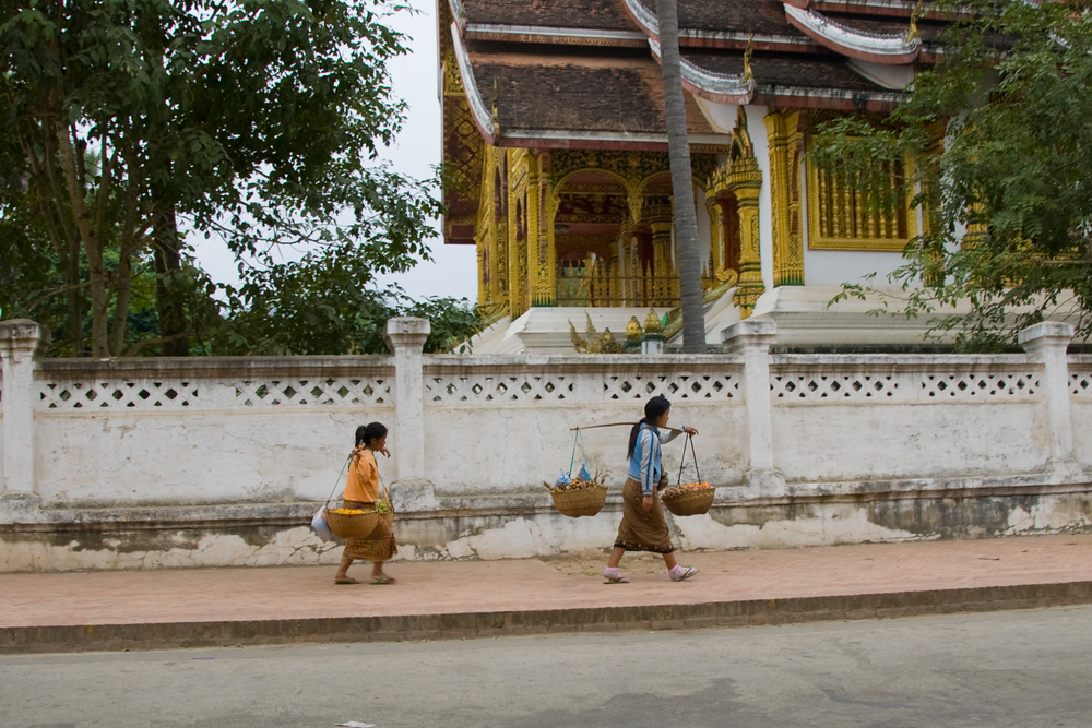 Women Walking, Luang Prabang, Laos