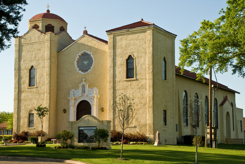 St. Stanislaus Catholic Church Homecoming Bazaar In Chappell Hill, Texas
