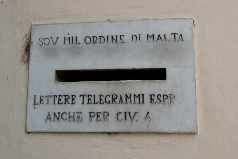 SMOM Letter box