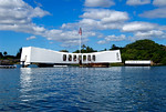 The Arizona Memorial, Pearl Harbor, Hawaii
