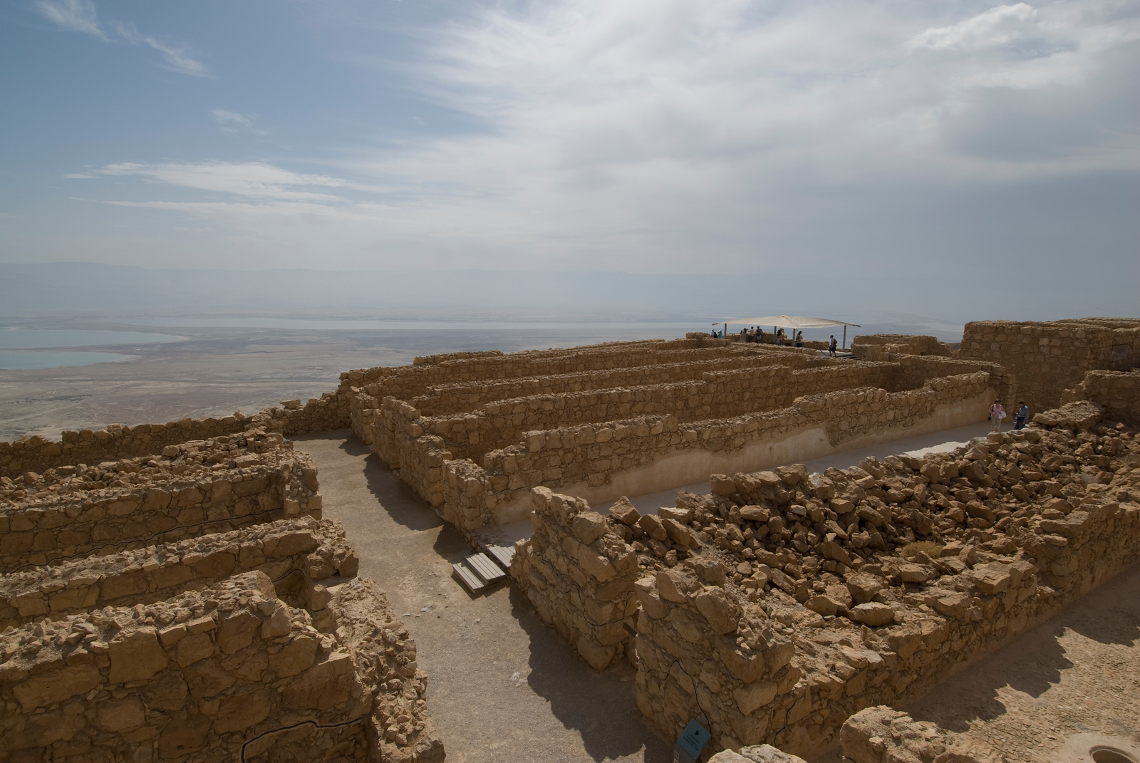 Masada UNESCO World Heritage Site, Israel