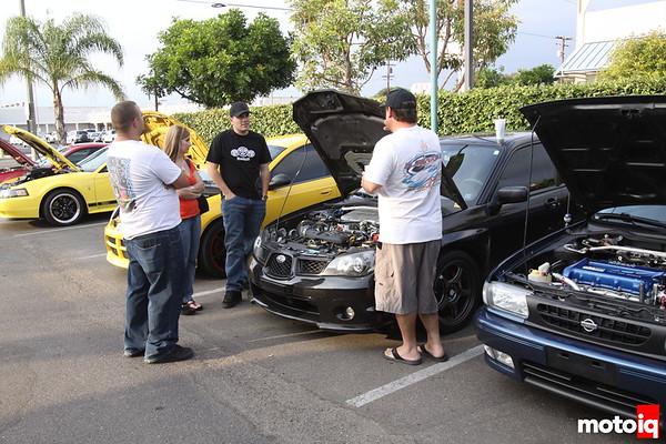 Subaru WRX Motorgen Angeles Crest Cruise