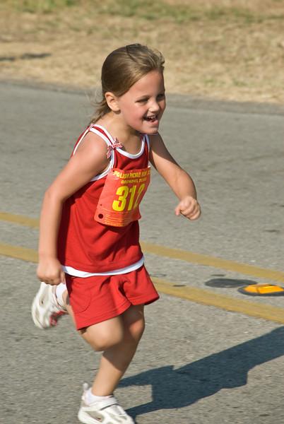 2009 Bremond Polski Dzien - Youngster running the 1K race