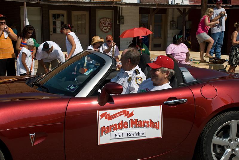 2009 Bremond Polski Dzien - Parade Marshall Phil Boriskie