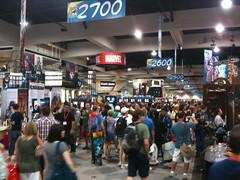 Floor of the expo