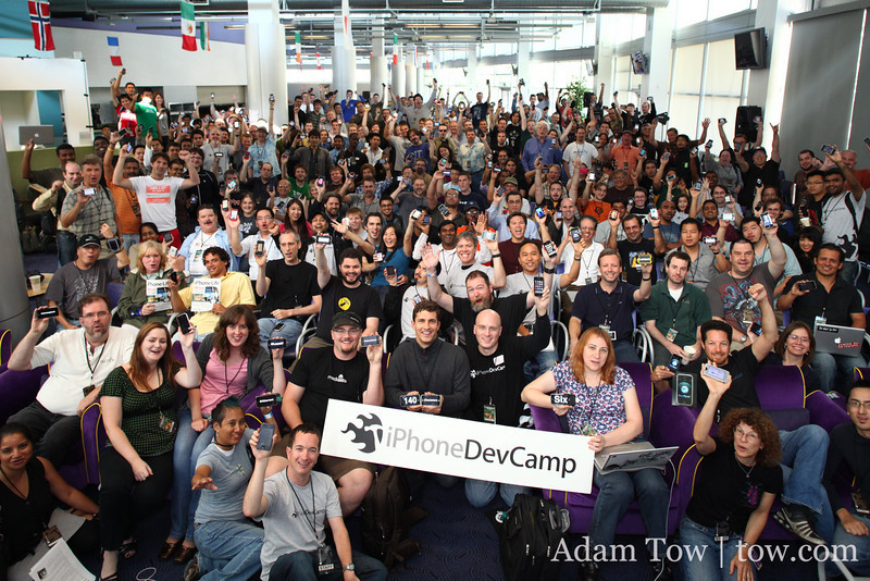 iPhoneDevCamp 3 Group Photo