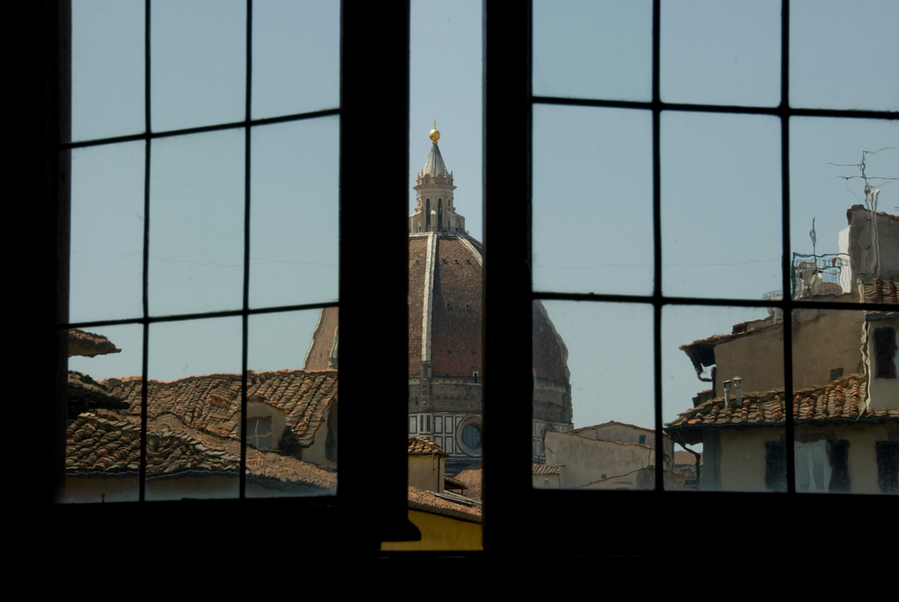 Dome in the Window, Florence, Italy