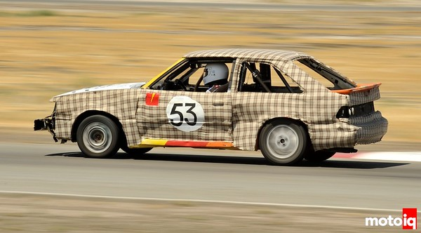 A LeMon Entry, My Dear Watson (1988 Ford Escort GT, Santa Clara CA)