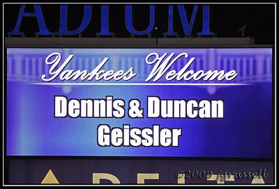 Yankees welcome!