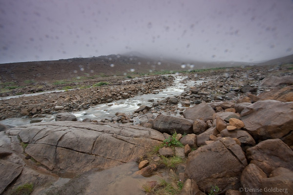 Tablelands in rain