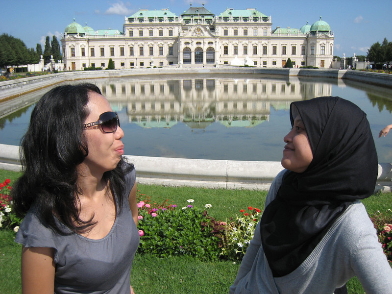 Astrid and Saras in Vienna