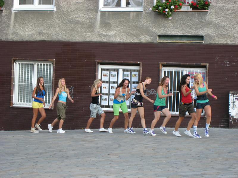 Local girls, Bratislava