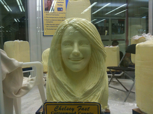 Butter sclupture