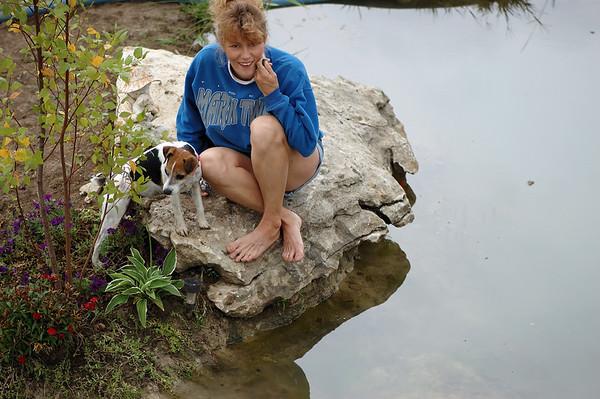 Cynthia Utterback's goofy self portrait smile... Gee.