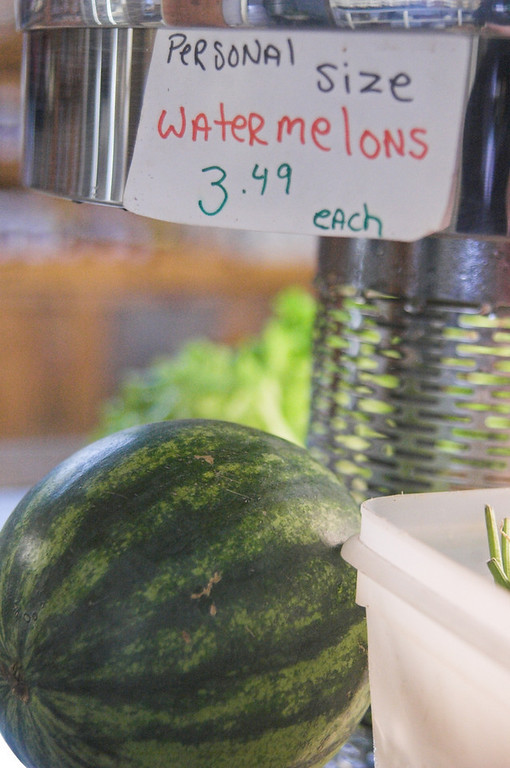 Personal sized Watermelons available at the Sunnycrest Farm Store in Londonderry, NH