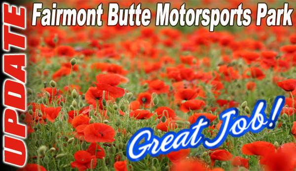 UPDATE: Fairmont Butte Motorsports Park