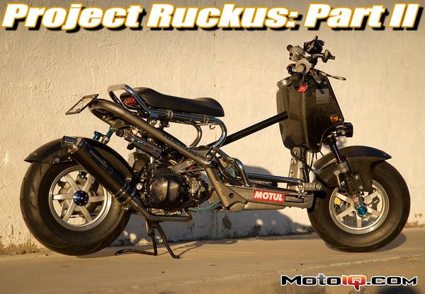 Project Honda Ruckus