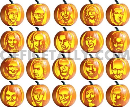 the office pumpkin stencils