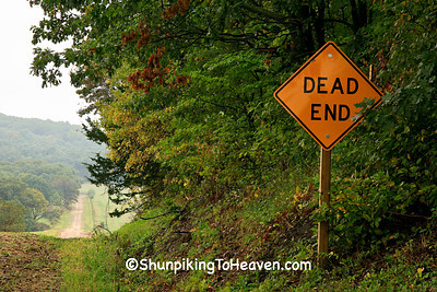 Dead End Sign, Pepin County, Wisconsin