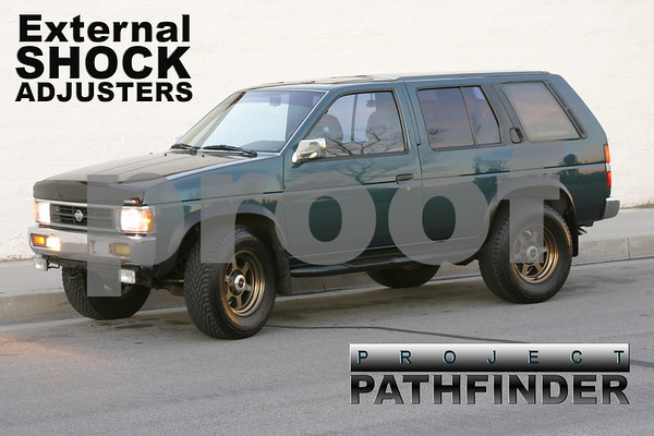 nissan pathfinder shock adjusters