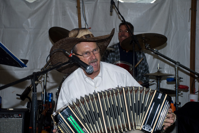 Dr. Jim Mazurkiewicz Playing Concertina With Brian Marshall and Friends In Anderson Texas