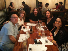 Thai dinner with Jim Bennett, Jen Leo, Jessica Speigel, Trisha Miller and myself
