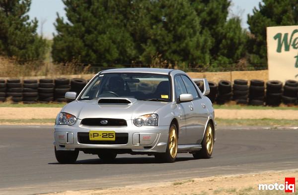 Whiteline P25 Subaru STi Project STi