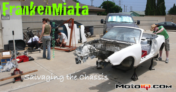 Frankenmiata chassis