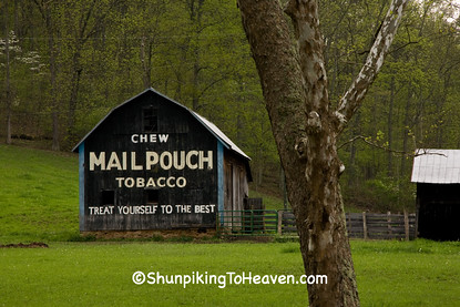 Mail Pouch Tobacco Barn, Scioto County, Ohio