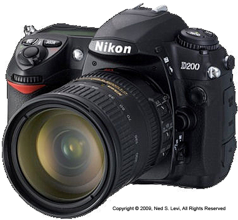 Nikon D200 DSLR, photo by NSL Photography