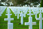 American Cemetary, Omaha Beach, Normandy, France