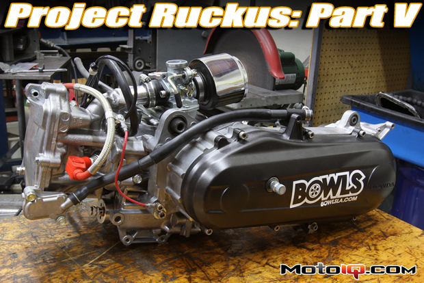 Project Honda Ruckus built GET engine