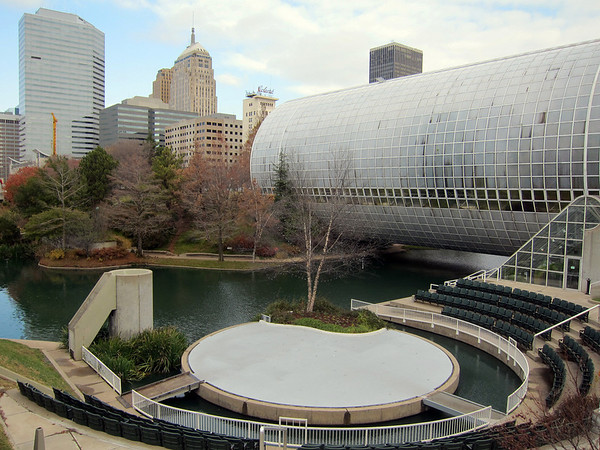 The Crystal Bridge Myriad Gardens Image By Joevare At Http Www Flickr Photos 4156333807 Sizes L