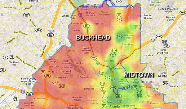 Buckhead Zip Code Map.Buckhead Atlanta Zip Code Map Zip Code Map