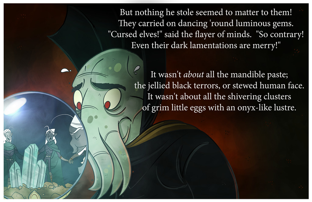 How The Illithid Stole Lolthmas, Part Three