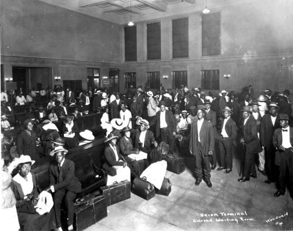 The black waiting room in 1921, Lost Jacsonville
