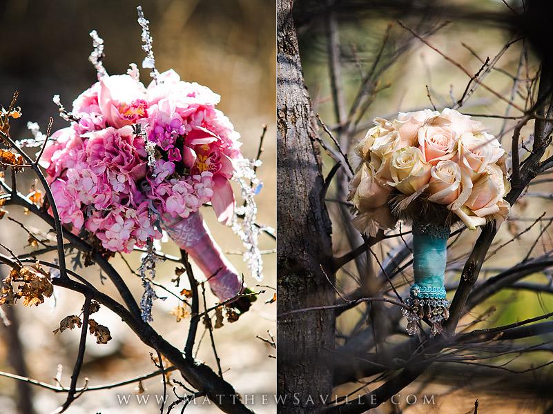 Wedding Boquets - Lavenders Flowers