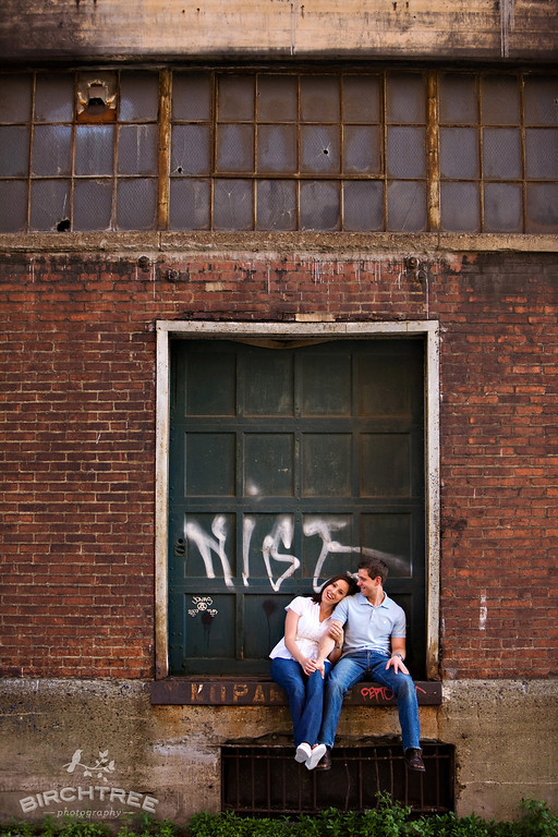 strip district engagement photos