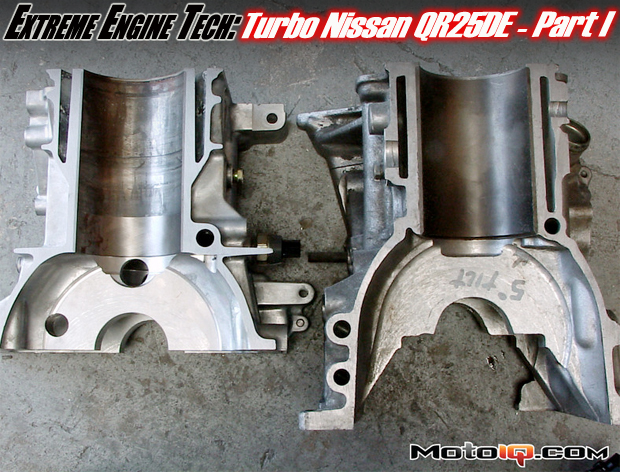Nissan QR25DE Engine Turbo by Jim Wolf Technology