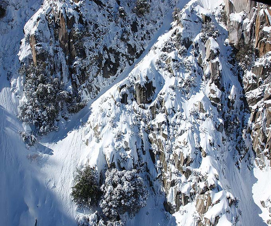 Cliffs on Mt San Jacinto