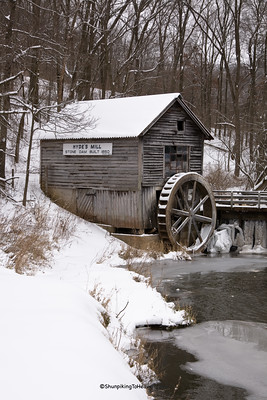 Hyde's Mill, Built 1850, Iowa County, Wisconsin