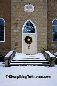 Architecture/Churches/Doors and Steps of the Salem Church, Sauk County, Wisconsin
