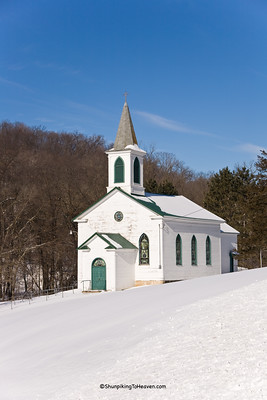 Architecture/Churches/St. Malachy's Catholic Church, Built 1865, Iowa County, Wisconsin