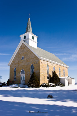 Architecture/Churches/The Otter Creek Church, Built 1872, Iowa County, Wisconsin