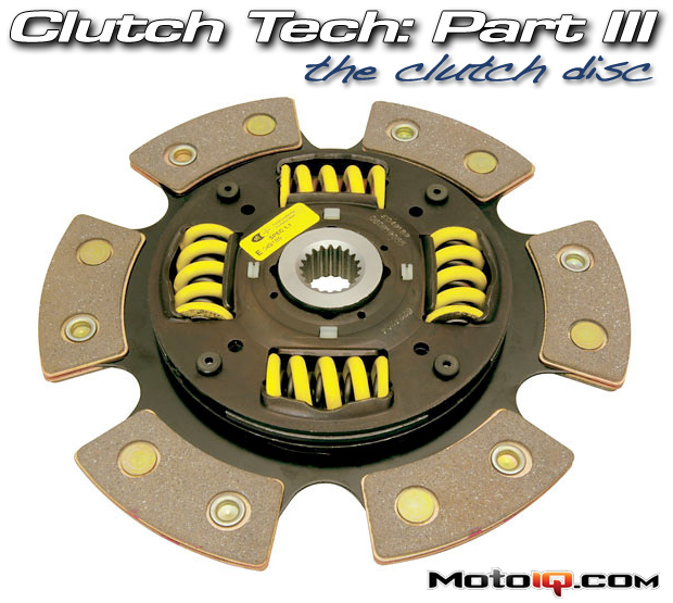 ACT six puck sprung hub clutch disc