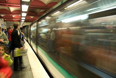 Paris Metro, Concorde Station, Paris, France