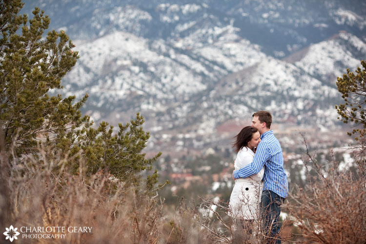 Colorado Springs engagement portraits