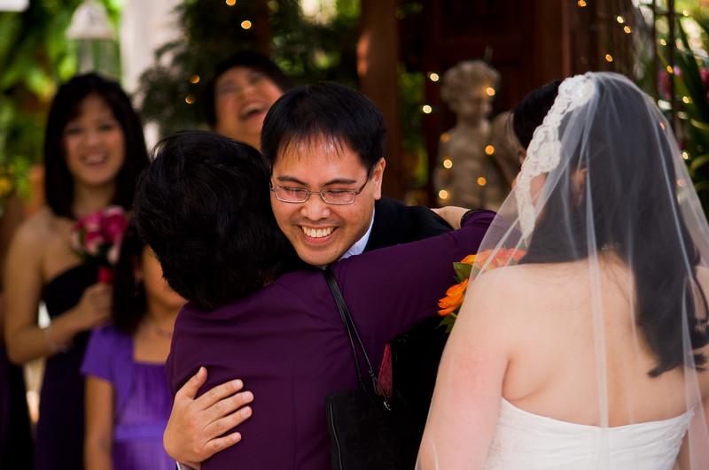tivoli terrace wedding photo, giving away the bride,