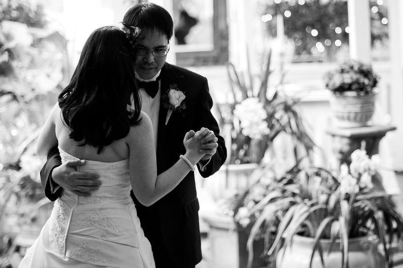 tivoli terrace wedding photo, first dance,