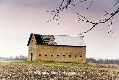 Stone Barn, LaSalle County, Illinois